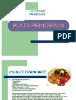 La Cuisine Francaise-plats Principaux