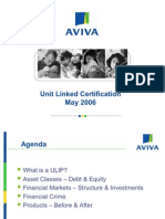 Unit Linked Certification
