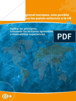 Comision Europea Politica Regional (2009)