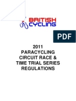 paracycling regulations