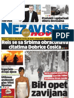 Dnevne nezavisne novine [broj 4794, 13.2.2012]