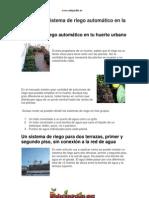 instalar sistema riego automático en la terraza www.edujardín.es