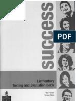 Success Elementary Test Book[1]