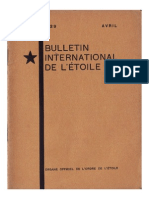 Bulletin International de L'Étoile N°15 Avril 1929 par J. Krishnamurti