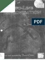 Jimmy Wyble - The Art of Two-Line Improvisation