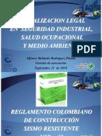 Actualizacion Legal en Seguridad Industrial, s.o y Medio Ambiente