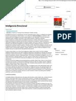 Inteligencia Emocional - Resumen