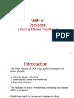Java Unit IV