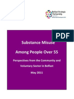 Substance Misuse Among People Over 55 (GEMS NI)