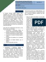 Informe y Propuesta MPS y EC 2012