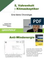 RWE, Vahrenholt und die Klimaskeptiker