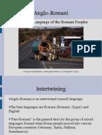 Anglo-Romani Language