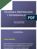 Definicion y Epidemiologia de La Diarrea