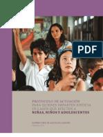 CS MEXICO Protocolo de actuación para quienes imparten justicia en casos que afecten a niñas
