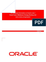 Oracle Middle Ware Strategy Briefing 072008