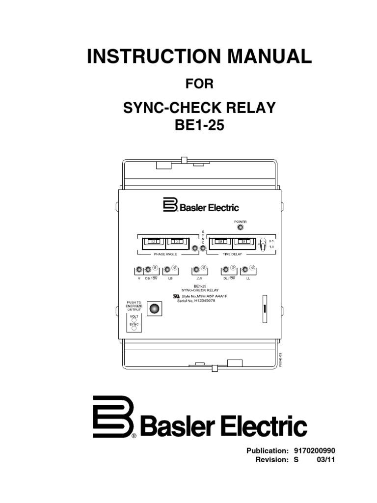 basler generator wiring diagram wiring diagrambasler be1 25 9170200990s relay switchbasler generator wiring diagram 14