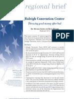 Regional Brief 84 Raleigh Convention Center