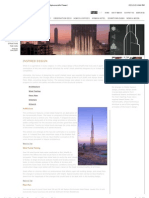 Burj Khalifa | the Tower | Design & Architecture (the Hymenocallis Flower)