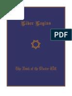 Liber Legius - The Book of the Master Will