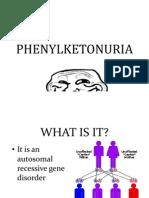 Phenylketonuria Ppt