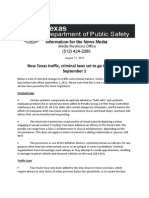 2011 - New Laws for Texans to Follow From DPS