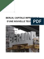 Berlin, capitale improbable