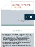 Synthesis and Physical Design