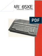 Atari 65xe Owners Manual Eng