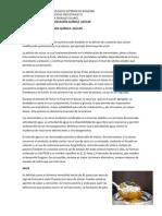 MÉTODOS DE CONSERVACIÓN QUÍMICA  AZÚCAR