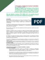 ¿Casos Prácticos_ Provisión y Castigo de Cuentas Incobrables