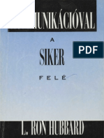 L Ron Hubbard Kommunikacioval a Siker Fele PuaLetoltes