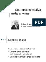 La Struttura Normativa Della Scienza