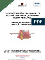 MANUAL DE INSTALAÇAO DS-418_BRTUV - rev 08