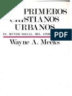 Los Primeros Cristianos Urbanos-Wayne a. Meeks