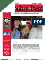 Poultry Press (Winter 2011-2012)
