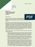 Surat Kpd Kepala LPP RRI Sumenep