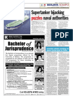 TheSun 2008-11-19 Page10 Supertanker Hijacking Puzzles Naval Authorities