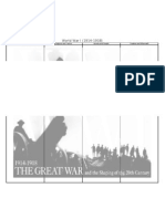 World War I and II Chart