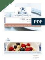 Hilton Lexington/Downtown Catering Menus