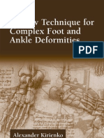 Ilizarov Technique for Complex Foot and Ankle Deformities Oxidative Stress Amp Disease