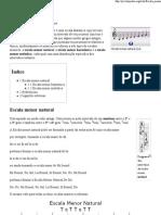 Escala menor -226 Wikipédia, a enciclopédia livre