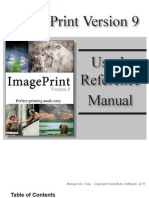 Image Print 9 Users Manual