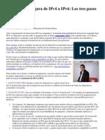 La migración segura de IPv4 a IPv6