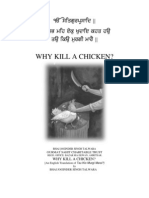 Why Kill A Chicken? by Bhai Joginder Singh Talwara