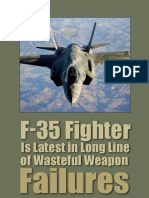 F-35 Fighter is Latest in Long Line of Wasteful Weapon Failures