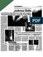 """Pendolari, pazienza finita (""""La Provincia"""", 09-02-2012 p. 21)"""