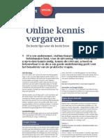 Online Kennis Vergaren (Coaching Magazine)