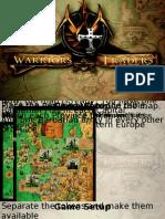Warriors&Traders Game Starter