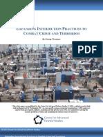 Expanding Interdiction Practices to Combat Crime and Terrorism