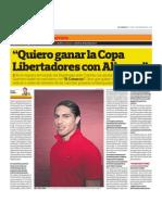 Entrevista a Paolo Guerrero Parte 1